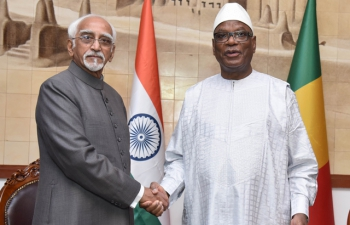 Visit of Hon'ble Vice President of India to Rep of Mali on 29-30 Sep 2016