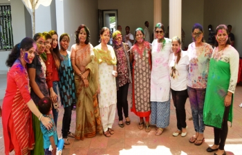 Celebration of Holi at India House Bamako -2018