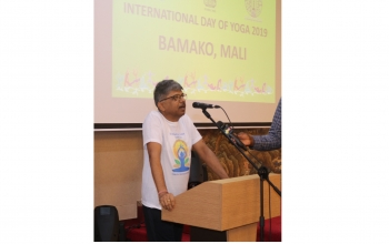 Celebration of  5th International Day of Yoga 2019 - Mali