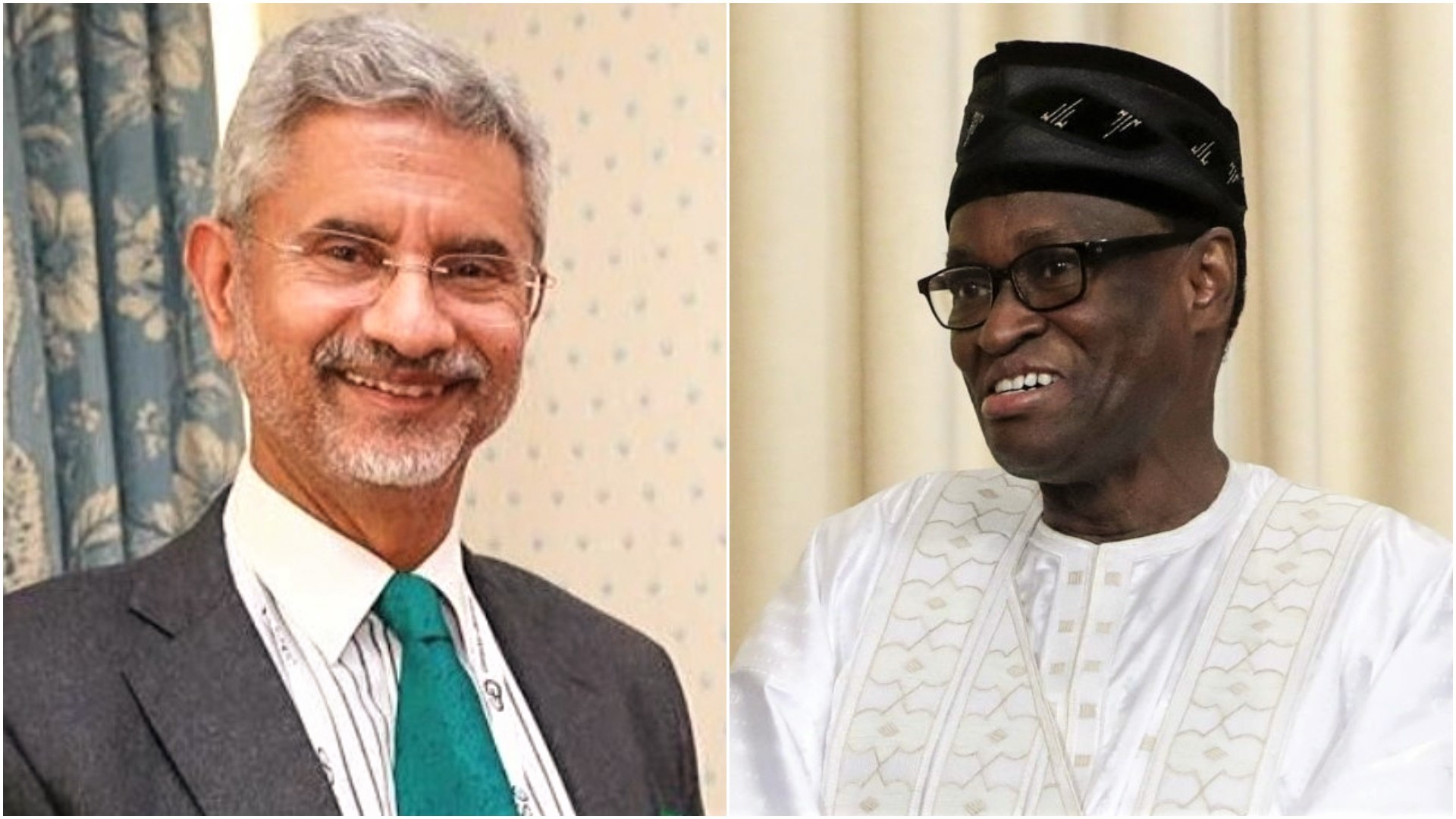 External Affairs Minister of India Dr. S. Jaishankar and Foreign Minister of Mali Mr. Tiébilé Dramé held telephonic conversation to discuss various aspects of bilateral relations, 25 April 2020.