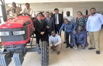 Field Visit to Mali Tractors