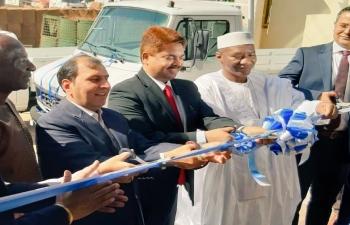 Tata Motors Inauguration in Mali