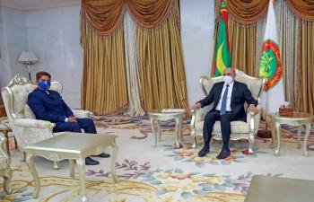 Presentation of Credentials by Ambassador to President of Mauritania